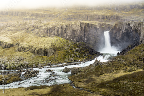 Unknow waterfall in Iceland - 162288344
