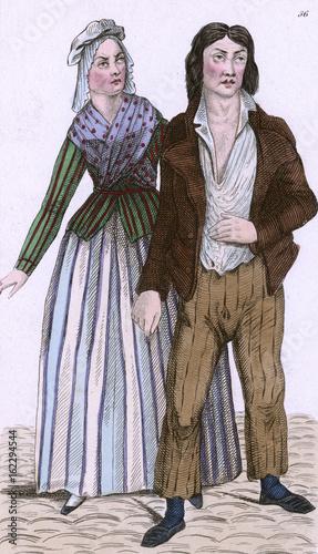 Foto Murales Fr Man - Woman  1797. Date: 1797