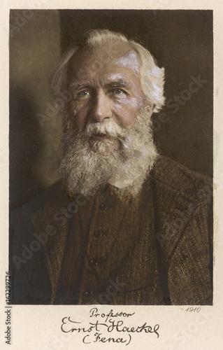 Ernst Haeckel Age 75. Date: 1834 - 1919 Poster