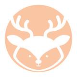 Animal reindeer cartoon icon vector illustration design graphic