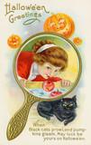 Customs - Halloween. Date: early 20th century - 162313921