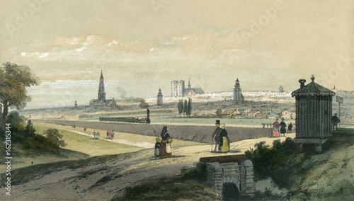 Brussels Railway. Date: 1842