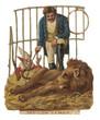 Lion Tamer - Docile Lion. Date: 19th century