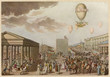 Coronation of Napoleon - Balloon Flight  Paris  1804. Date: 1804