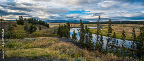 Landscapes at Yellowstone National Park