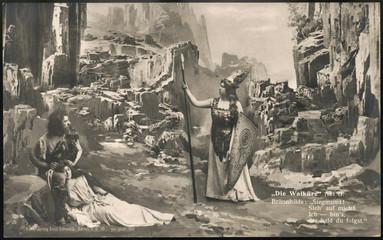 Act 2 at Bayreuth 1908. Date: 1908