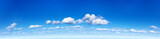 Fototapeta Na sufit - Panorama of the blue sky with clouds © yuri_61
