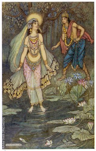 Poster Religion - India - Ganga