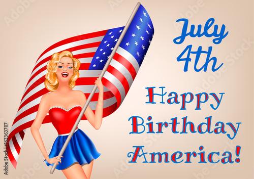 Dzień Niepodległości i kobieta