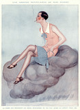 Lady on Mauve Cloud. Date: 1926 - 162364116