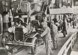 Fototapety Ford Assembly Line 1929. Date: 1929