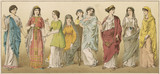 Ancient Roman Women. Date: circa 100 BC - 162380778