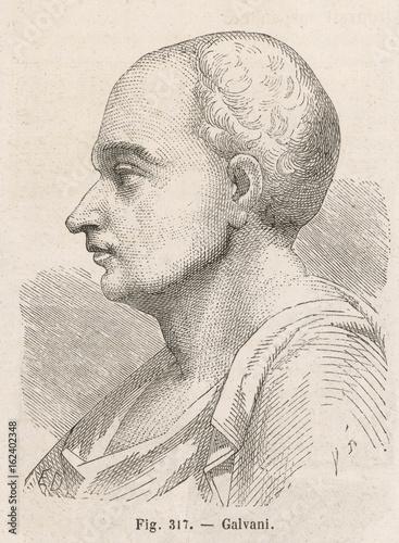 Luigi Galvani. Date: 1737 - 1798 Poster