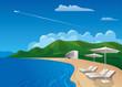beach resort journey