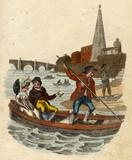 Thames Waterman 1804. Date: 1804 - 162413786