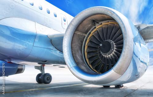Obraz na plátne jet engine