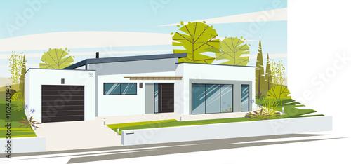 maison contemporaine - 162428340