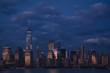 NYC skyline at sunset