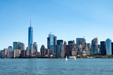 New York skyline and Lower Manhattan, United States