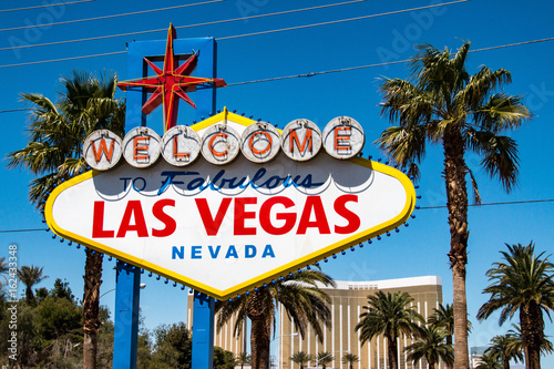Welcom to Las Vegas sign, United States Poster