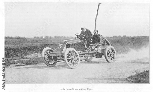 Foto op Aluminium Madrid Paris - Madrid Race 1903. Date: 1217