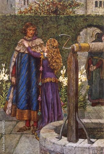Elaine - Lancelot Legend Poster