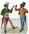 Two Minstrels. Date: 19th century