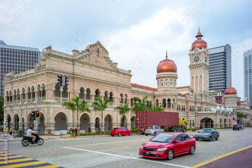 Sultan abdul samad building in Kuala Lumpur, Malaysia Poster