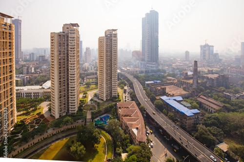 Foto Murales View over Mumbai