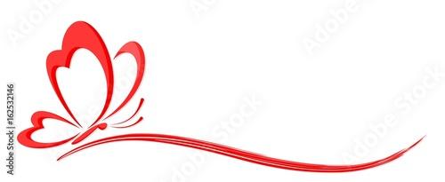 Logo butterfly.