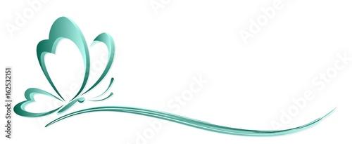 Logo butterfly.  - 162532151