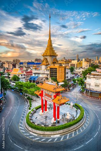 Bangkok Thailand Chinatown Poster