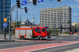 FIRE BRIGADE - Fire truck in the city