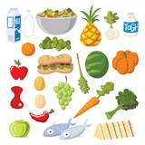 Cartoon Food - 162590518