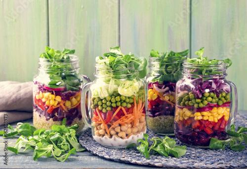 Homemade vegetable salad - 162603973