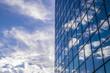 Abstrakte Fassade eines modernen Bürogebäudes in Hamburg, Deutschland - 162604102