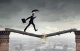 Overcome fear of failure . Mixed media - 162613127