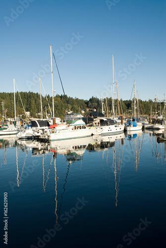 Boats, Salt Spring Island, British Columbia, Canada