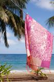 Scarf hanging by the sea, Tioman Island, Malaysia - 162622971