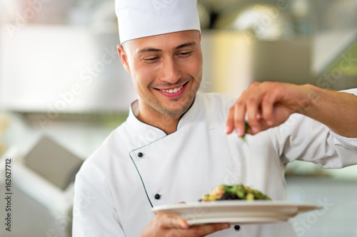 Poster Chef at work