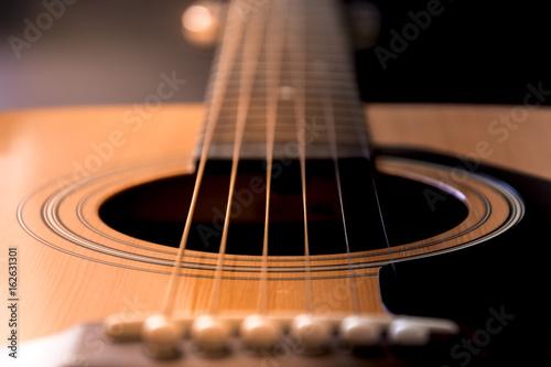 Plakát Detail of guitar