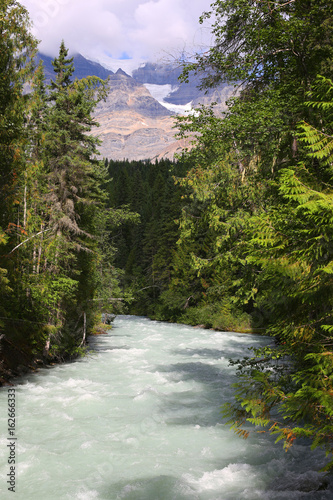 Mount Robson Provincial Park in British Columbia, Canada