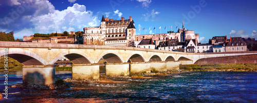 Great castles and historical landmarks of France- Chateau Amboise