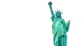 Statue of Liberty - isolated on white - 162688747