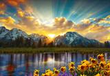 Grand Tetons and reflection - 162692511