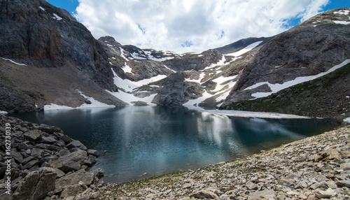 Black Lake ( Karagol ) in Turkey