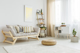 Living room with decorations - 162737596