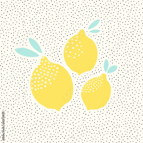 Lemons Card Design - 162738591