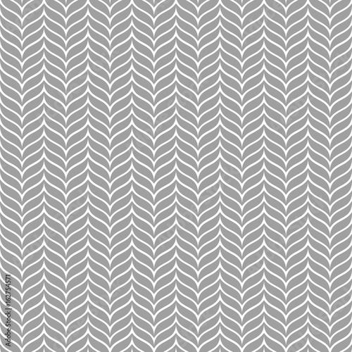 Seamless Chevron Zigzag Pattern Vector - 162754571