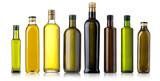 Olive oil bottle on white - 162762779